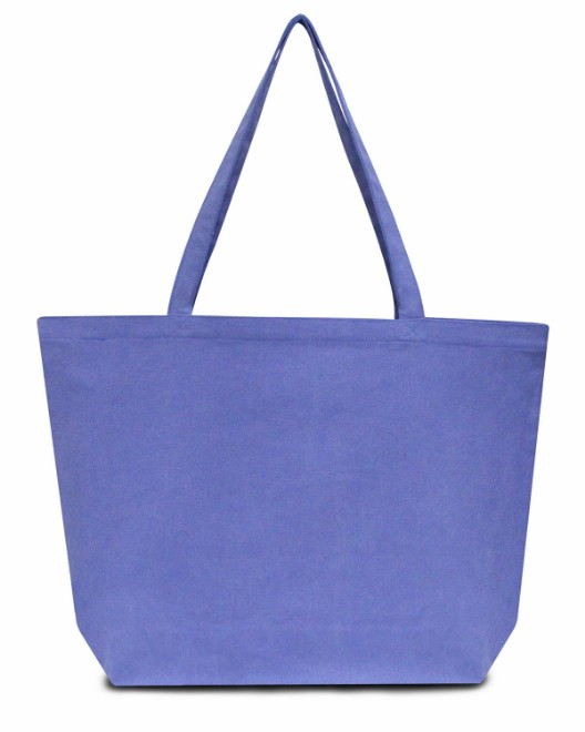 Picture of Liberty Bags LB8507 Seaside Cotton 12 oz. Pigment-Dyed Large Tote