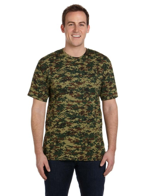 Picture of Code Five LS3906 Men's Camo T-Shirt