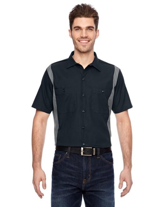 Picture of Dickies LS524 Men's 4.25 oz. Industrial Colorblock Shirt
