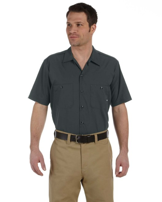 Picture of Dickies LS535 Men's 4.25 oz. Industrial Short-Sleeve Work Shirt