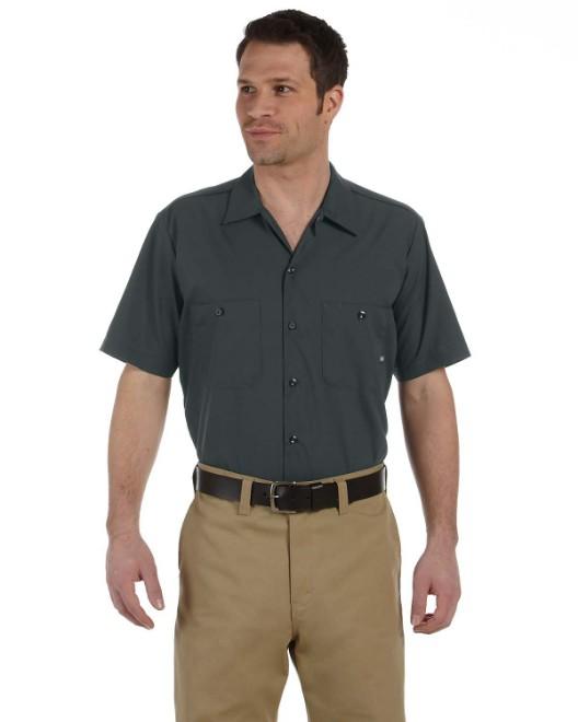 Men/'s NEW Size S-5XL Pocket Short Sleeve Industrial Work Shirt Dickies ls535