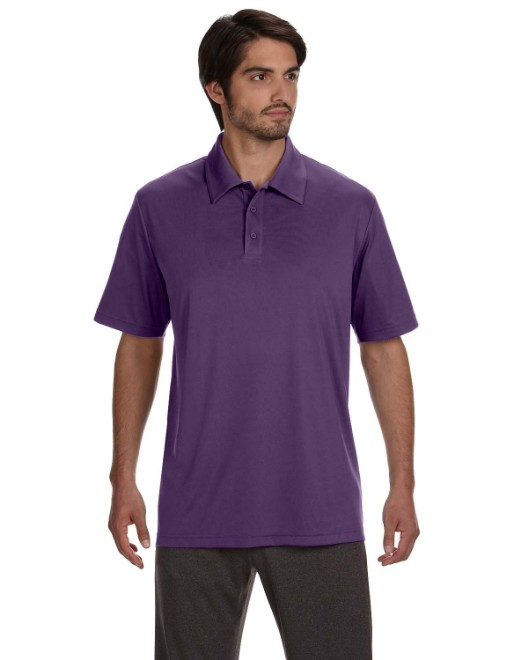 Picture of All Sport M1809 Unisex Performance Three-Button Polo