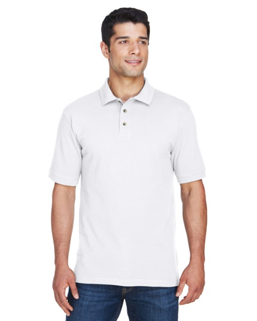 Picture of Harriton M200 Men's 6 oz. Ringspun Cotton Pique Short-Sleeve Polo