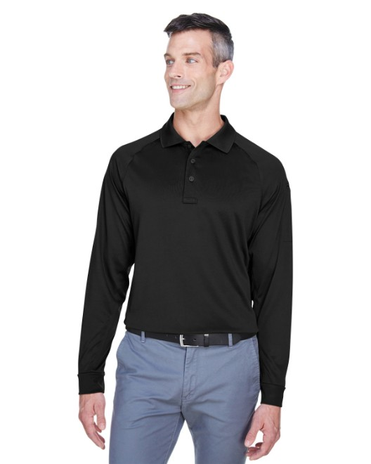 Picture of Harriton M211L Men's Tactical Long-Sleeve Performance Polo