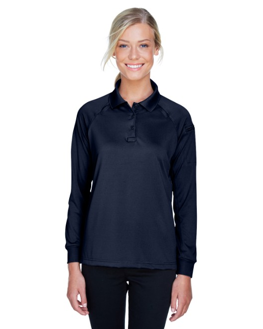 Picture of Harriton M211LW Womens Tactical Long-Sleeve Performance Polo