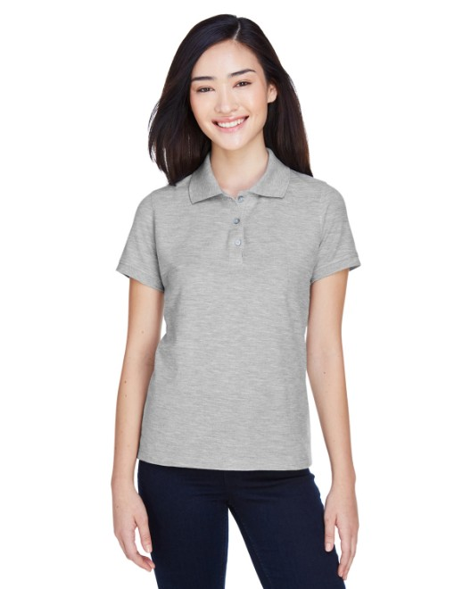 Picture of Harriton M280W Womens 5 oz. Blend-Tek Polo