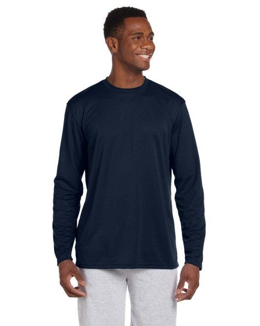Picture of Harriton M320L Adult 4.2 oz. Athletic Sport Long-Sleeve T-Shirt