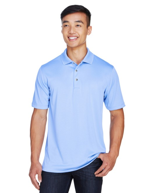 Picture of Harriton M345 Men's Advantage IL Snap Placket Performance Polo