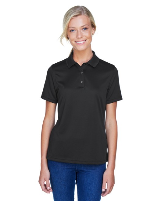 Picture of Harriton M345W Womens Advantage IL Snap Placket Performance Polo