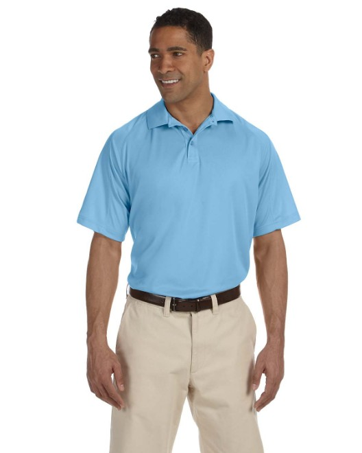 Picture of Harriton M374 Men's 3.8 oz. Polytech Mesh Insert Polo