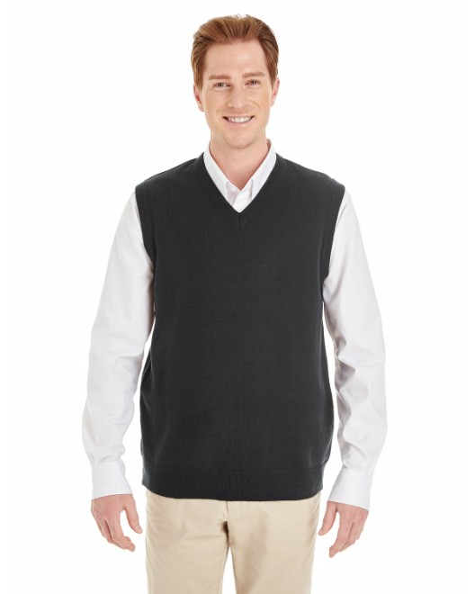 Picture of Harriton M415 Men's Pilbloc V-Neck Sweater Vest