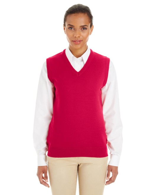 Picture of Harriton M415W Womens Pilbloc V-Neck Sweater Vest