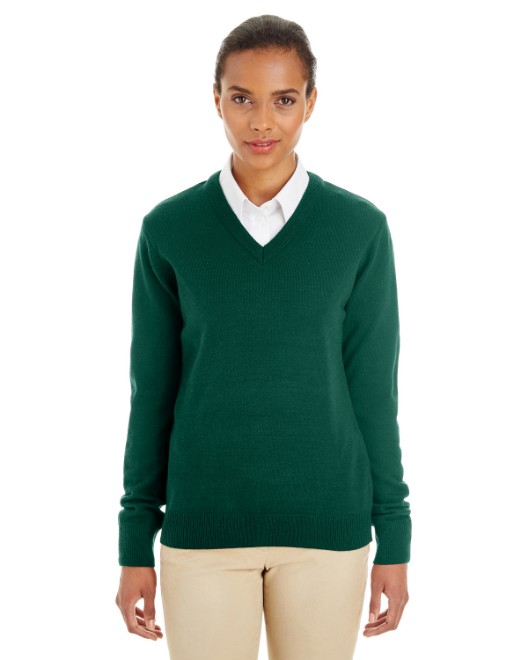 Picture of Harriton M420W Womens Pilbloc V-Neck Sweater