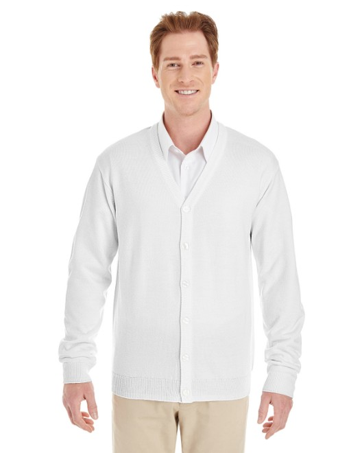 Picture of Harriton M425 Men's Pilbloc V-Neck Button Cardigan Sweater