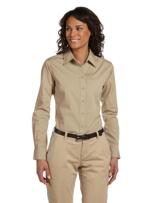Picture of Harriton M510W Womens 3.1 oz. Essential Poplin