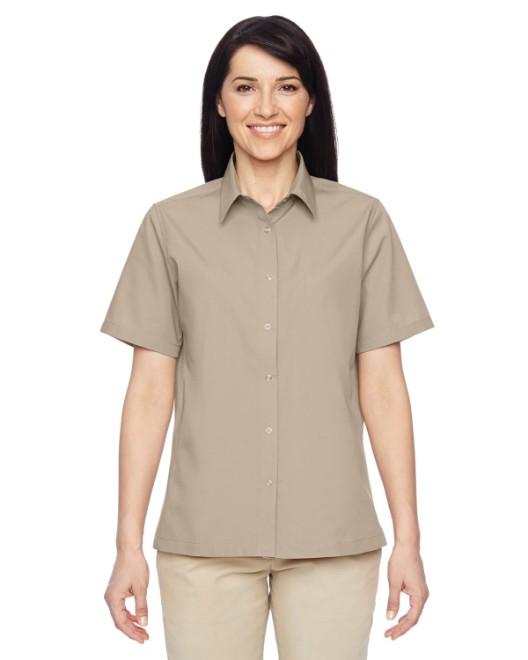 Picture of Harriton M545W Womens Advantage Snap Closure Short-Sleeve Shirt