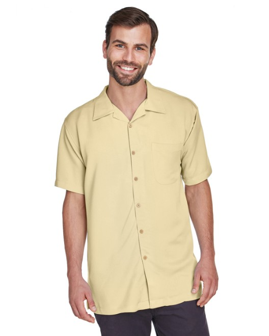 Picture of Harriton M570 Men's Bahama Cord Camp Shirt