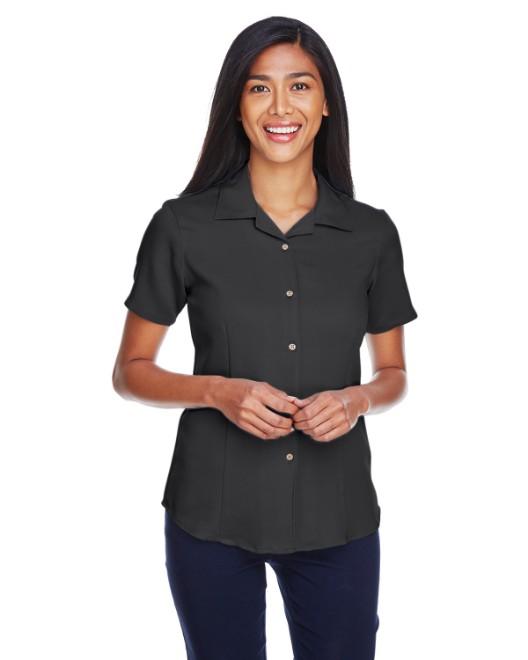 6527f3e526a Shirts In Bulk. Harriton M570W Womens Bahama Cord Camp Shirt