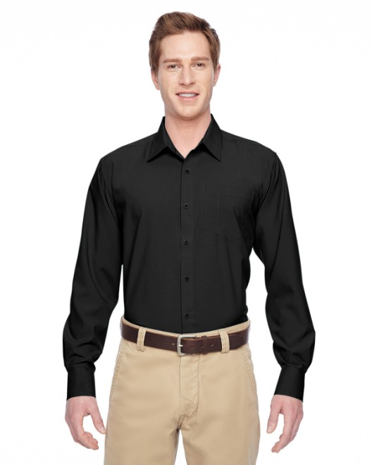 Picture of Harriton M610 Men's Paradise Long-Sleeve Performance Shirt