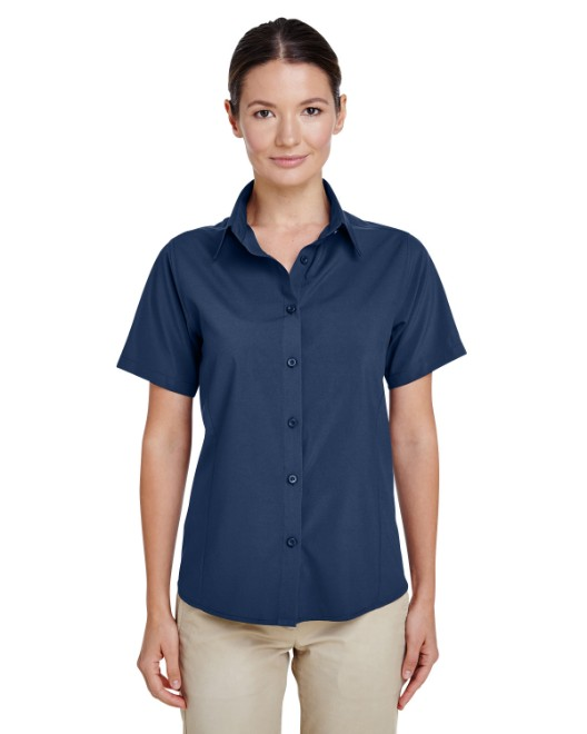 Picture of Harriton M610SW Womens Paradise Short-Sleeve Performance Shirt