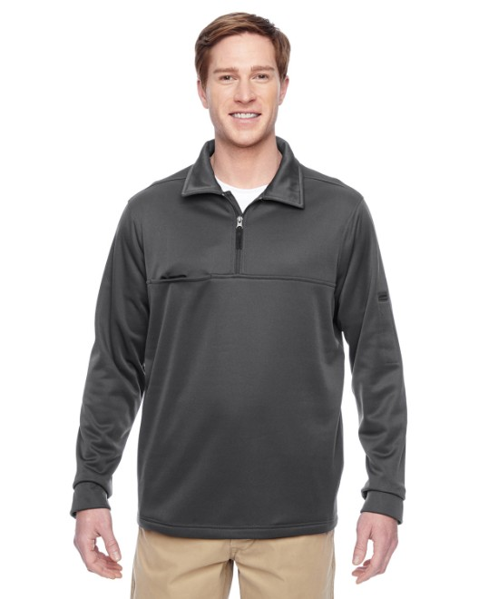 Picture of Harriton M730 Adult Task Performance Fleece Quarter-Zip Jacket
