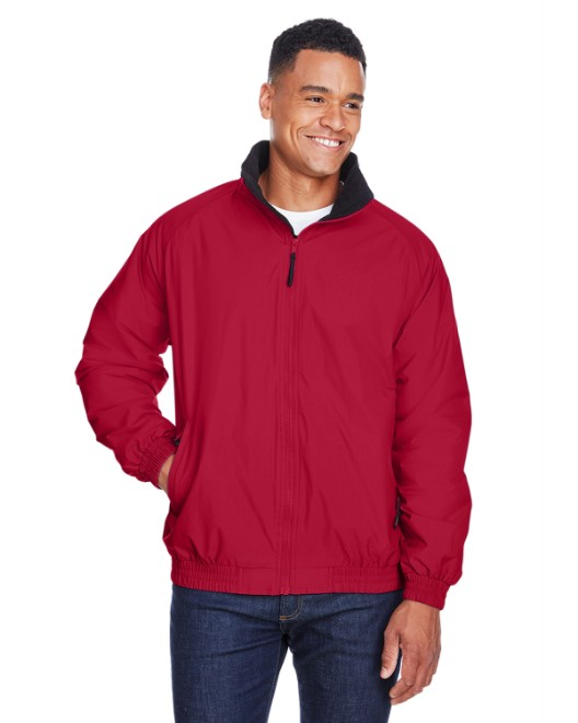 Picture of Harriton M740 Adult Fleece-Lined Nylon Jacket