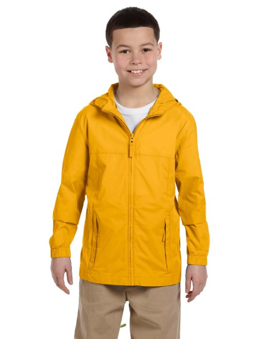 Picture of Harriton M765Y Youth Essential Rainwear
