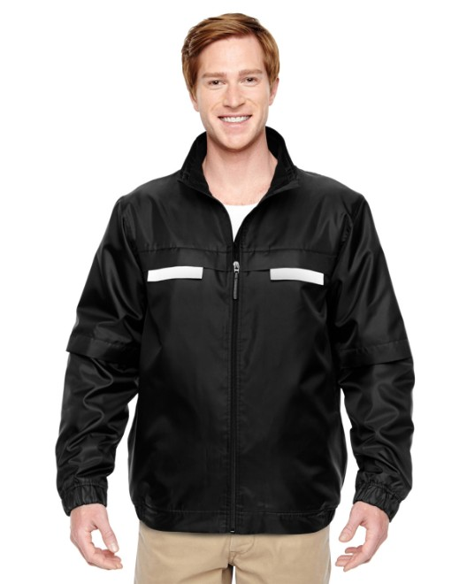 Picture of Harriton M770 Adult Survey Fleece-Lined All-Season Jacket