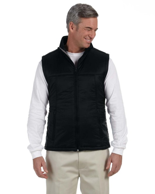 Picture of Harriton M795 Men's Essential Polyfill Vest