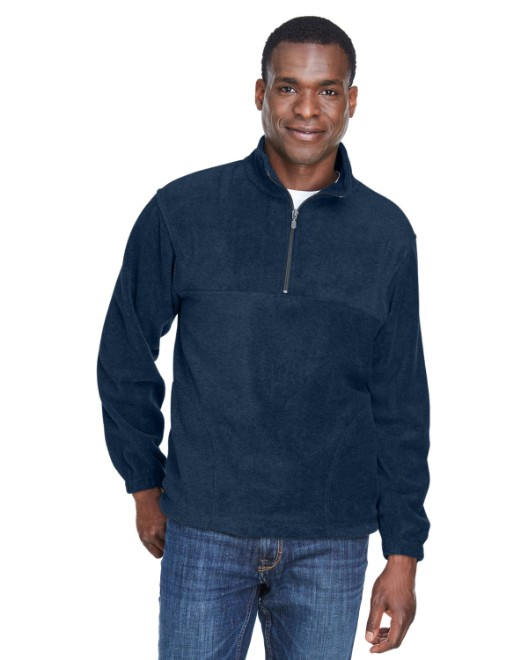 Picture of Harriton M980 Adult 8 oz. Quarter-Zip Fleece Pullover