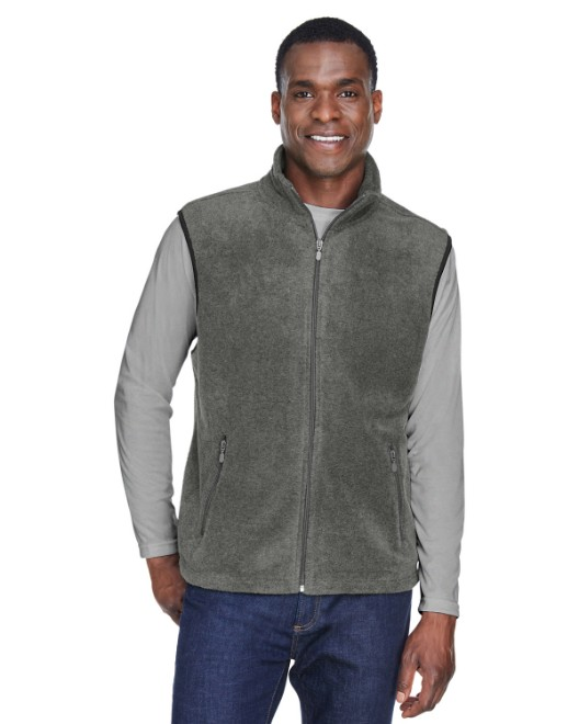 Picture of Harriton M985 Adult 8 oz. Fleece Vest