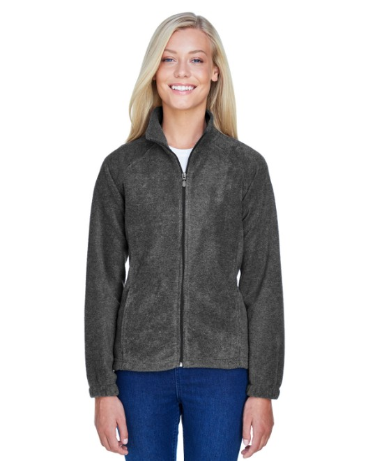Picture of Harriton M990W Womens 8 oz. Full-Zip Fleece