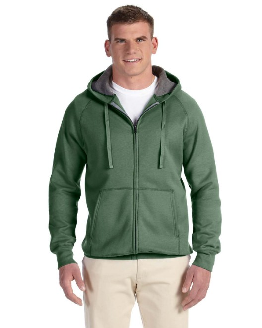 Picture of Hanes N280 Adult 7.2 oz. Nano Full-Zip Hood