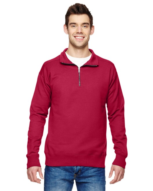 Picture of Hanes N290 Adult 7.2 oz. Nano Quarter-Zip