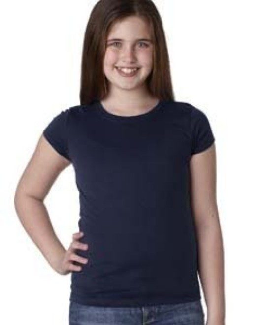 Picture of Next Level N3710 Youth Girls' Princess T-Shirt