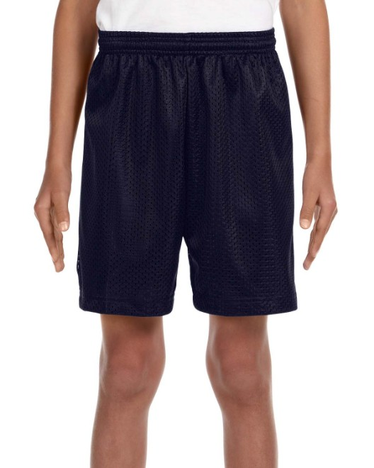 Picture of A4 NB5301 Youth Six Inch Inseam Mesh Short