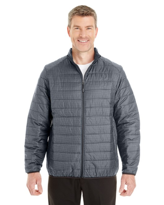 Picture of Ash City - North End NE701 Men's Portal Interactive Printed Packable Puffer Jacket