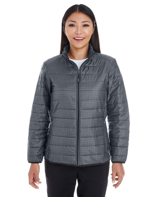Picture of Ash City - North End NE701W Womens Portal Interactive Printed Packable Puffer Jacket