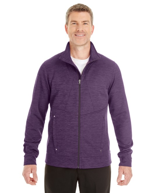 Picture of Ash City - North End NE704 Men's Amplify Melange Fleece Jacket