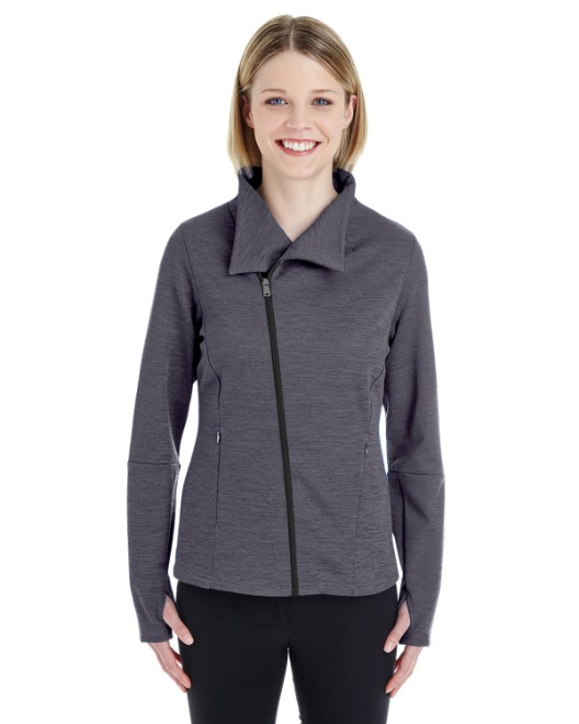 Picture of Ash City - North End NE704W Womens Amplify Melange Fleece Jacket