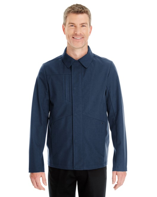 Picture of Ash City - North End NE705 Men's Edge Soft Shell Jacket with Fold-Down Collar