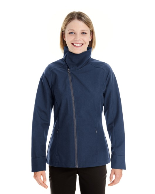 Picture of Ash City - North End NE705W Womens Edge Soft Shell Jacket with Convertible Collar