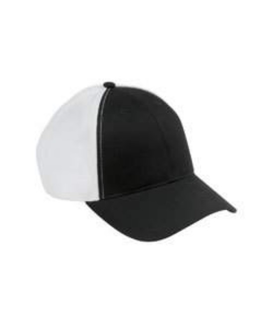 Picture of Big Accessories OSTM Old School Baseball Cap with Technical Mesh