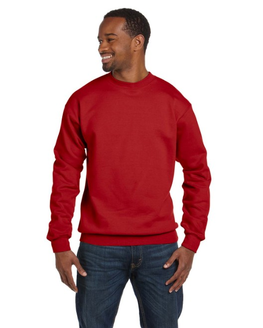 Picture of Hanes P1607 Adult 7.8 oz. EcoSmart 50/50 Fleece Crew