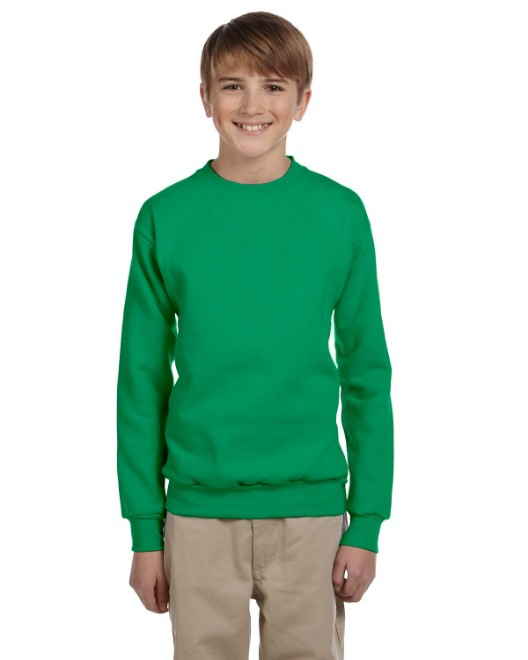 Picture of Hanes P360 Youth 7.8 oz. ComfortBlend EcoSmart 50/50 Fleece Crew