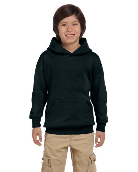 Picture of Hanes P473 Youth 7.8 oz. EcoSmart 50/50 Pullover Hood