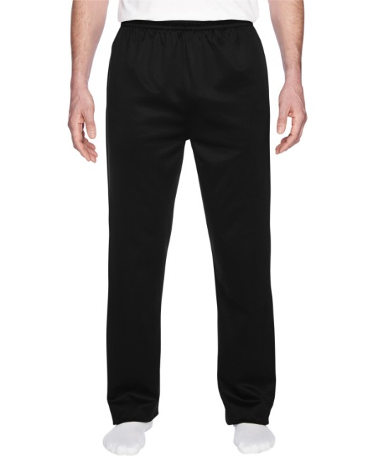 Picture of Jerzees PF974MP Adult 6 oz. DRI-POWER SPORT Pocketed Open-Bottom Sweatpant