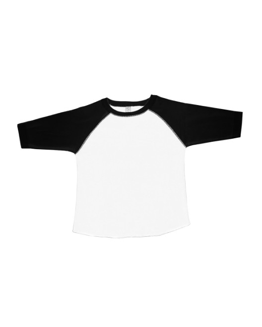 Picture of Rabbit Skins RS3330 Toddler Baseball Fine Jersey T-Shirt