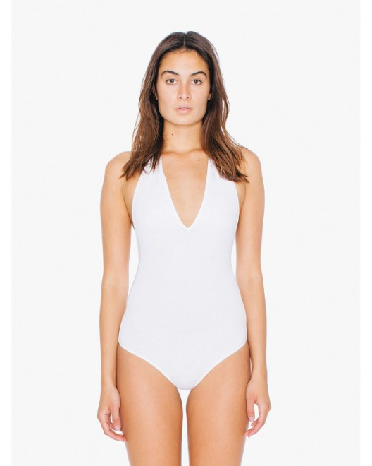 Picture of American Apparel SA8312W Womens Cotton Spandex Halter Bodysuit
