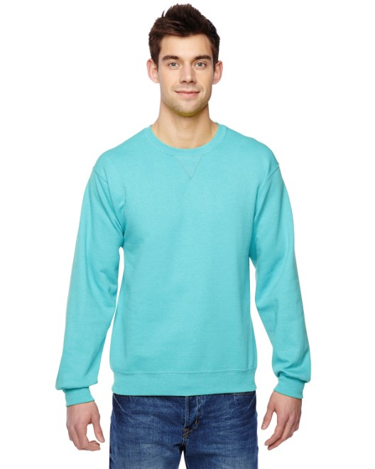 Picture of Fruit of the Loom SF72R Adult 7.2 oz. SofSpun Crewneck Sweatshirt